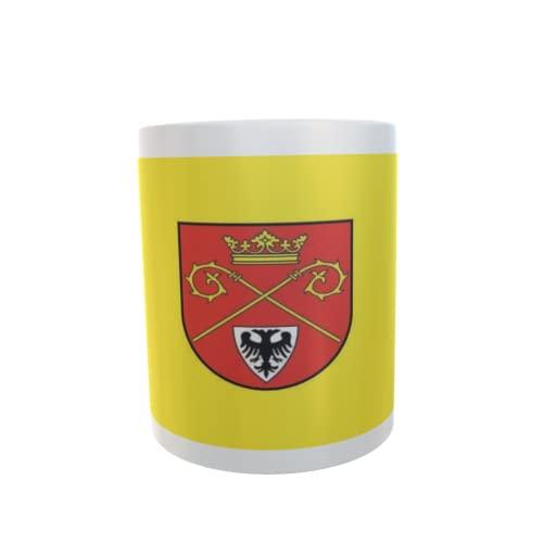 U24 Tasse Kaffeebecher Mug Cup Flagge Techentin
