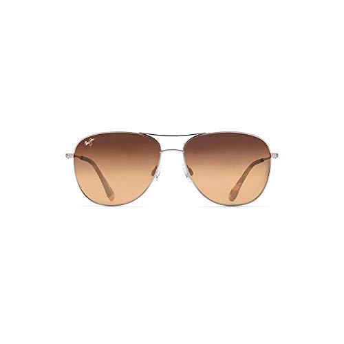 Maui Jim Cliff House w/ Patented PolarizedPlus2 Lenses Polarized Lifestyle Sunglasses, Gold/Hcl Bronze Polarized, Medium