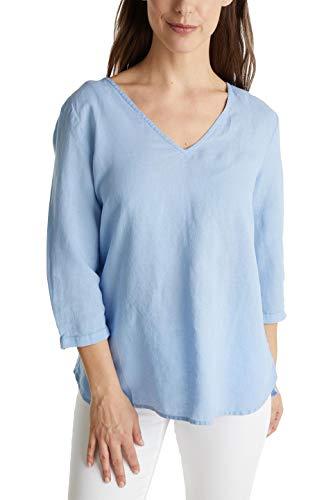 Esprit Damen 040EE1F315 Bluse, 440/LIGHT BLUE, 36