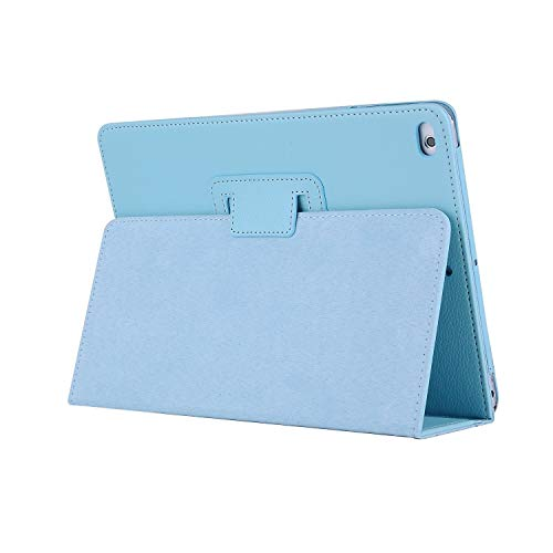 NVFED Case for iPad 9.7 2017 2018 5/6th Generation Cover Auto Sleep Wake Up PU Leather for iPad case Air 1/2 Full Body Protective Case (Color : for iPad Sky Blue, Size : for iPad 6 9.7 2018)