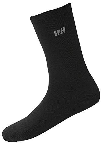 Helly Hansen Everyday Wool Socken, Black, 45-47