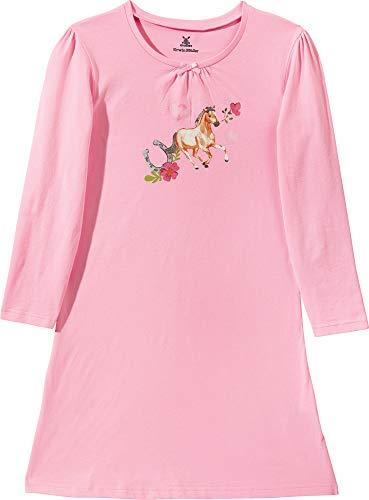Erwin Müller Kinder-Nachthemd Single-Jersey rosa Größe 146/152