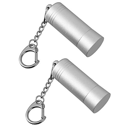 Scicalife 2Pcs Mini Schlösser Remover Tragbare Einzelhandel Shop Anti Diebstahl Display Schloss Entferner Keychain Haken Peg Entriegelung Gerät Sicherheit Lock Werkzeuge