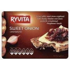Ryvita Crisp Free shipping Bread Sweet Onion - Pack Max 80% OFF 200g 6 of