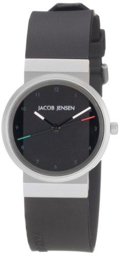 JACOB JENSEN Damen-Armbanduhr JACOB JENSEN NEW SERIES ITEM NO. 742 Analog Quarz Kautschuk JACOB JENSEN NEW SERIES ITEM NO. 742