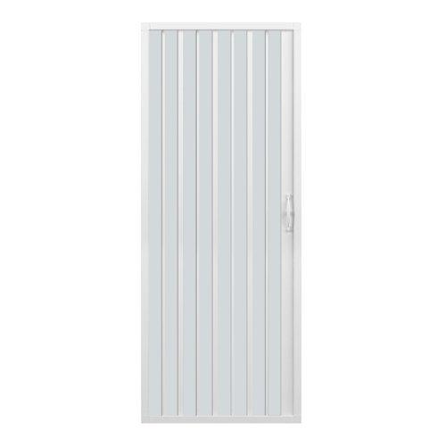 Rollplast BVEN2LONCC28080- puerta de ducha a Fuelle, Diámetro 80 x 185 cm, PVC, un solo lado, hoja única, apertura lateral, blanca