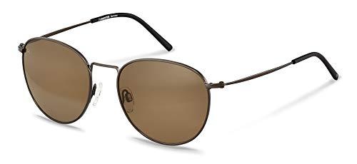 Rodenstock Sonnenbrille Retro Classic Sun R1426 (Unisex), leichte Sonnenbrille im Retro-Stil mit Sun Contrast Gläsern, runde Sonnenbrille mit Edelstahlgestell