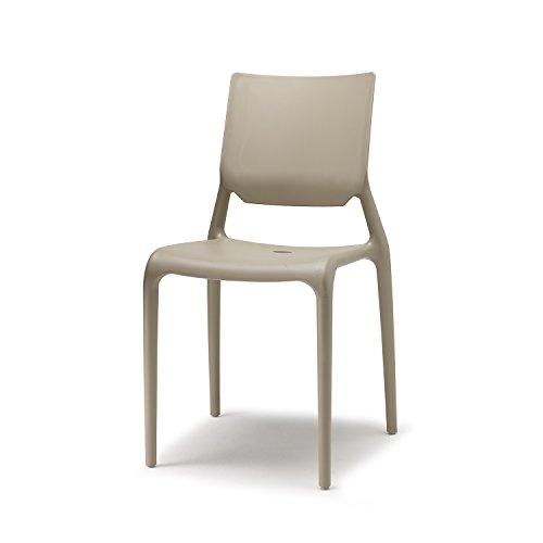 Scab Design Set 6 sedie Sirio Colore Tortora