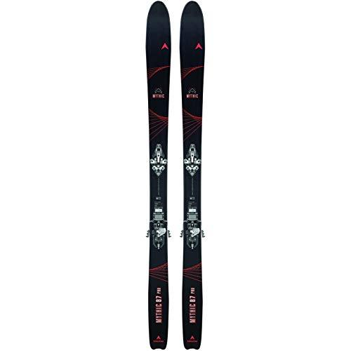 DYNASTAR Mythic 87 Pro +HM Rotation Skiset Freeride mit Befestigung, Erwachsene Unisex, Schwarz, 171 cm