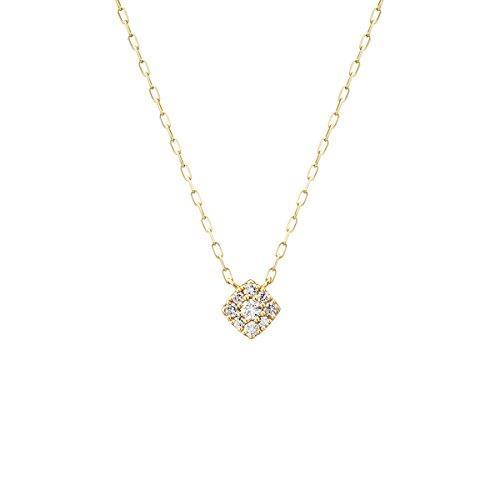 4℃(ヨンドシー) ダイヤモンドK10イエローゴールド(YG) ネックレス 111736123017