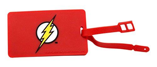 DC Comics Etiqueta del equipaje Q-Tag Flash