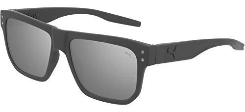 Puma gafas de sol PU0246S 004 gris plata tamaño de 55 mm de hombre