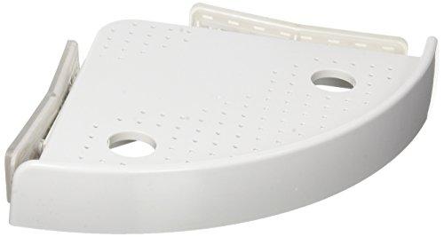SNAP UP SHELF ETAGERE01 L'étagère d'angles idéale pour la salle de bain - Vu à la Télé, Plastique, Blanc, 27 x 30 x 7,6 cm