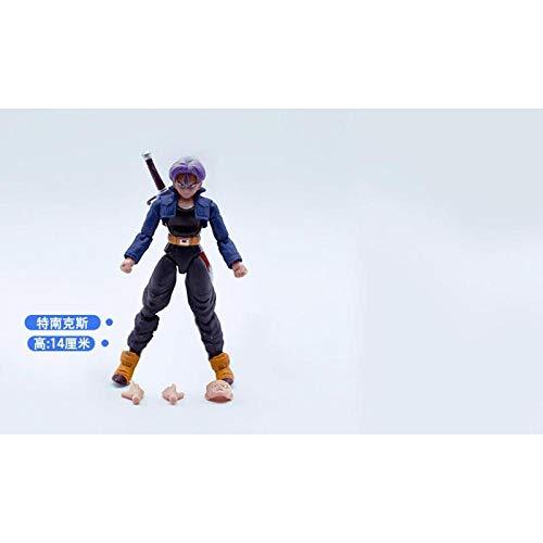 Dragon Ball bewegliche Puppe Modell Puppe Spielzeug Super drei Sonne Wukong Gohan Tenanx Hand Office Aberdeen-Tenax
