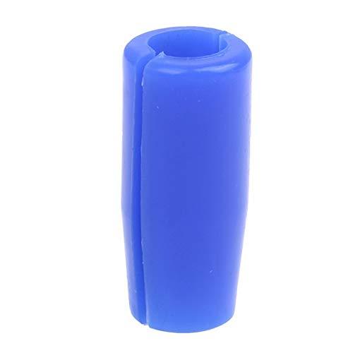 Ssg 1pc réutilisable Titulaire autoclavable antidérapage en caoutchouc souple en silicone Grip Tattoo Cover Tattoo Machine Gun Poignée d'alimentation Tube 2020 Nouveau (Color : Blue)