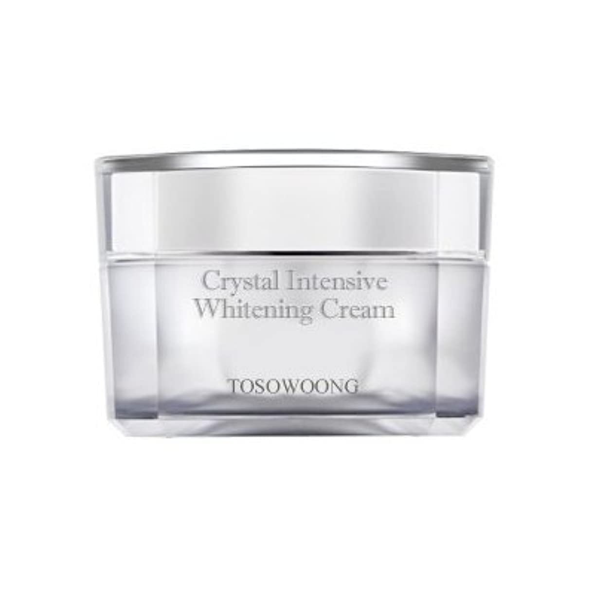不快イタリック深さKOREAN COSMETICS, TOSOWOONG_ Crystal Whitening Cream 50g (Trouble marks mitigation, moisturizing, nutrition)[001KR]