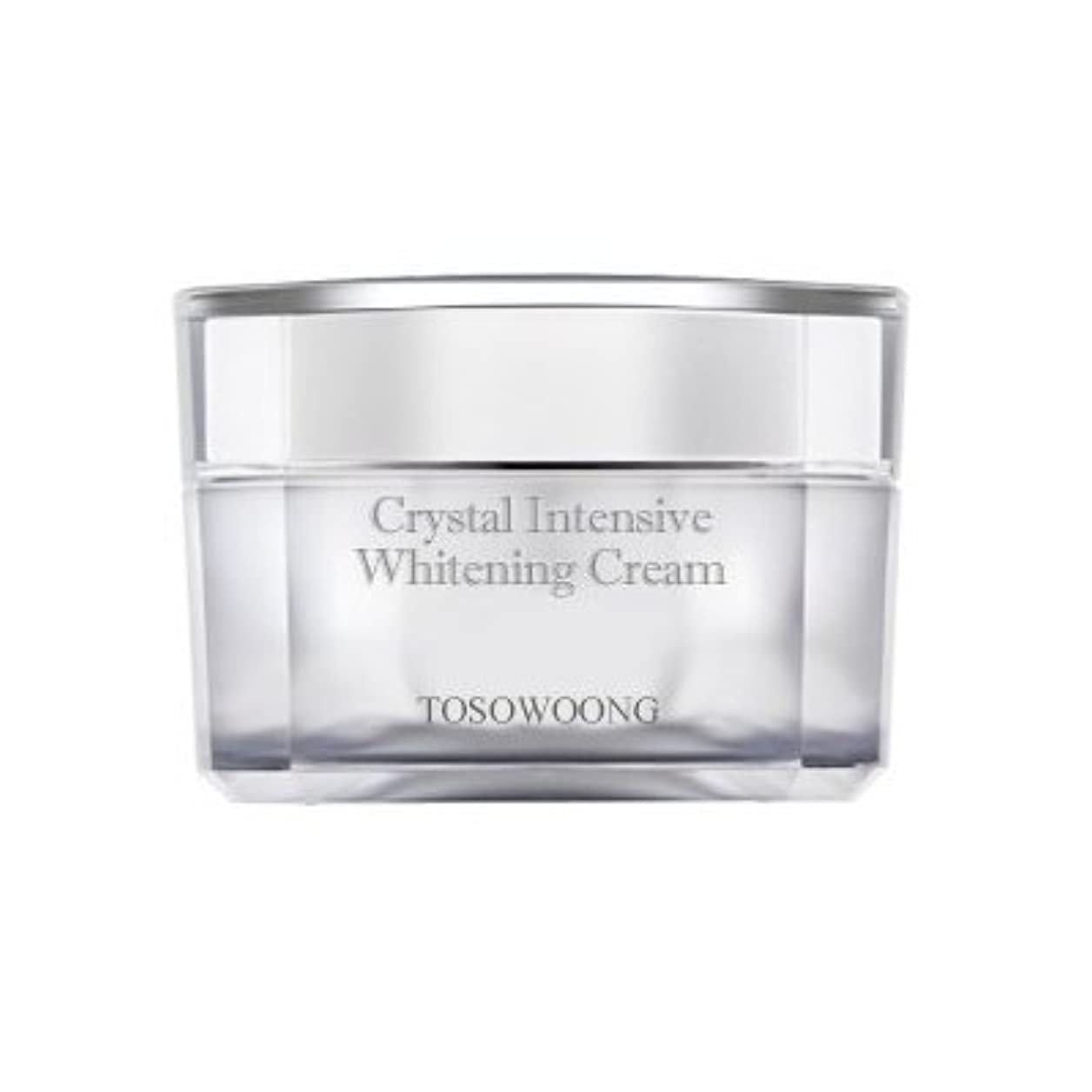 失効丈夫入場料KOREAN COSMETICS, TOSOWOONG_ Crystal Whitening Cream 50g (Trouble marks mitigation, moisturizing, nutrition)[001KR]