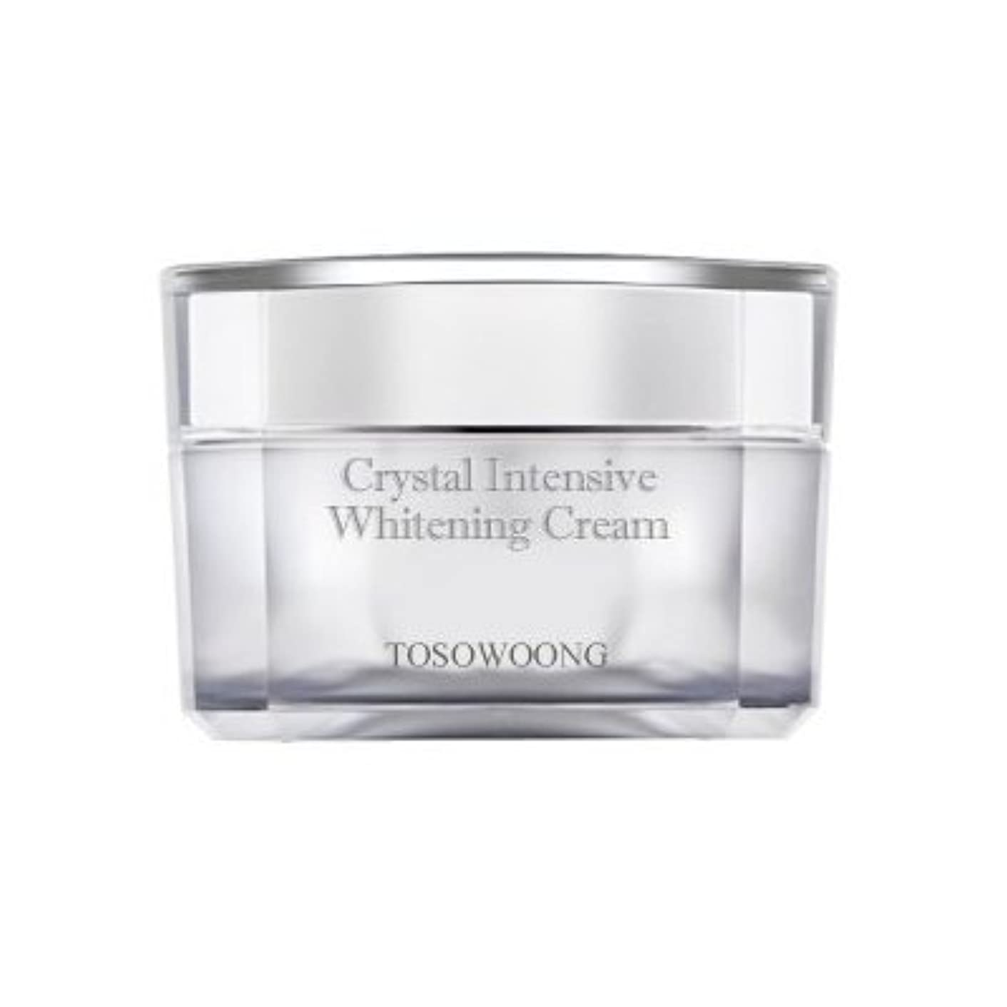 小売アメリカ耕すKOREAN COSMETICS, TOSOWOONG_ Crystal Whitening Cream 50g (Trouble marks mitigation, moisturizing, nutrition)[001KR]