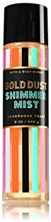 Bath Body Works Gold Dust Shimmer Mist Champagne Toast
