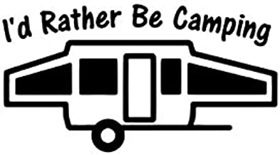 When Size Matters Pop-Up Camper Window Decal