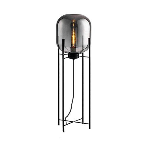 YQGOO Lámpara de pie Iluminación Decorativa Moderna para el hogar Luces de Suelo nórdicas Accesorios de pie para Sala de Estar LED Iluminación de Vidrio Dormitorio FL