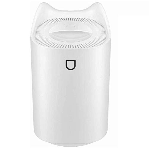 TOBUSA Cool Mist Humidifier,5L Ultrasonic Humidifiers Diffuser for Baby Bedroom Home Office,with 3 Nozzle,4 Mist Modes,7 Color Night Light,Lasts Up to 50H (White)