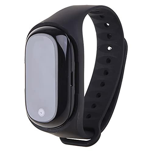 AniYY 1 Unidades Reloj Inteligente TWS Bluetooth 5.0 Auricular Inalámbrico Monitor Pulsera