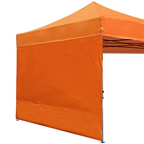 ABCCANOPY Seitenwand/Seitenteile für 3x3m pavillon,3x6m pavillon,partyzelt,festzelt|Wasserabweisend|ohne Fenster,Orange