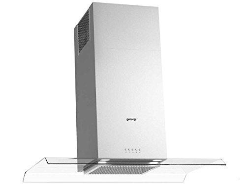 Gorenje IHGC 933 E16X Insel-Dunstabzugshaube/59,4 kWh/jahr/90 cm/SmartCurve/LED Beleuchtung/SuperSilent/edelstahl