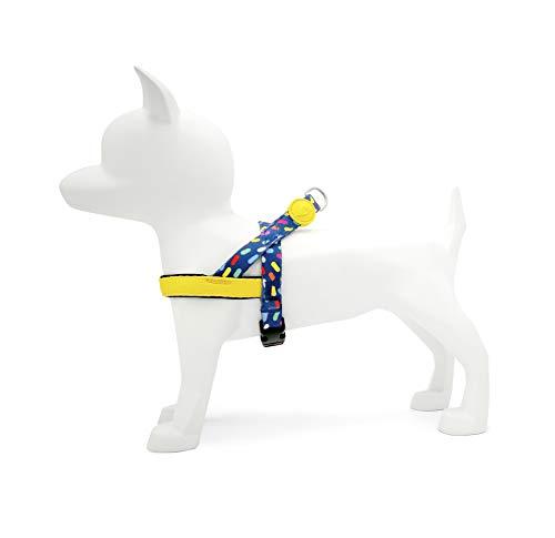 MORSO 7192 Norweger Hundegeschirr, XS, Mehrfarbig