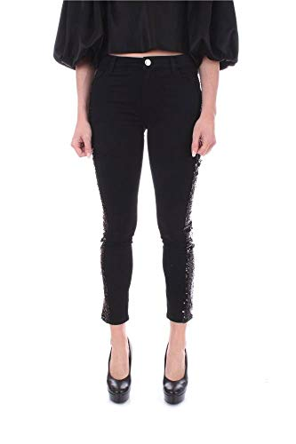 Luxury Fashion | My Twin Dames 201MP226101103 Zwart Katoen Jeans | Lente-zomer 20