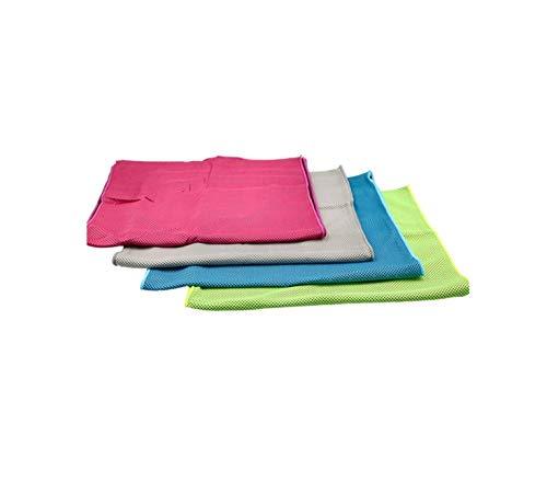 Toalla Microfibra de Deportes Toalla de Hielo Fra Bufanda de Cuello de Pauelo de Secado Rpido para Yoga Golf Viajes Gimnasio y Deportes al Aire Libre-A
