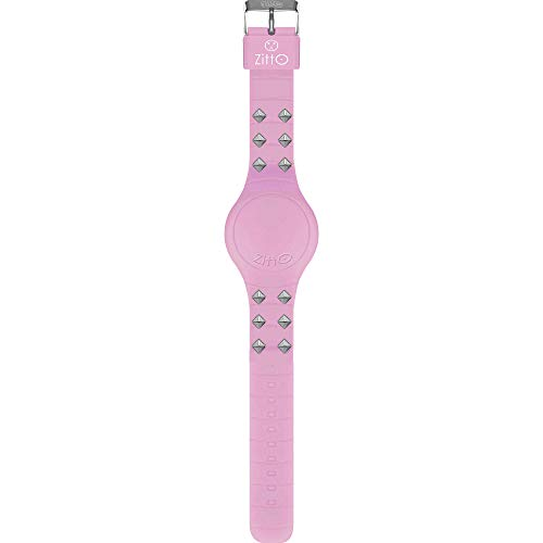 Orologio digitale ZITTO REBEL in silicone viola NEONVIOLET-LC-MINI