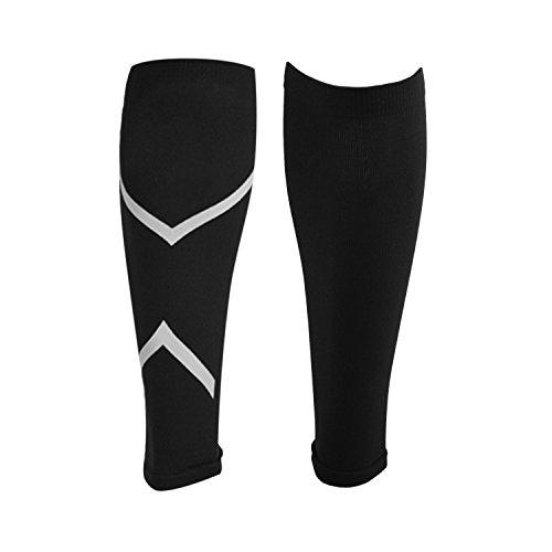 Labewin Waden-Kompressionsstrümpfe - Deine Wadenbandagen für Marathon Triathlon Trailrunning - 100% Compression Socks für optimale Waden Kompression beim Laufen - (Calf Sleeves für Frauen/Männer)