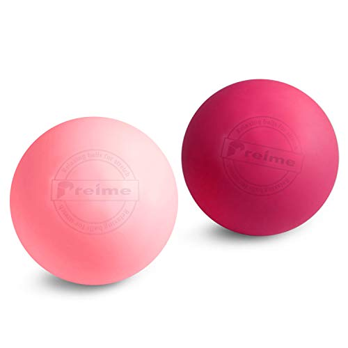 Preime Dr.relax Ball マッサージ ストレッチ ボール ピンク・ライトピンク