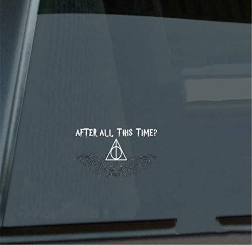 Quidditch de Harry Hogwarts — Snitch dorada — Etiquetas autoadhesivas | Pegatinas para camiones | Calcomanías de parachoques | Decoración para laptop