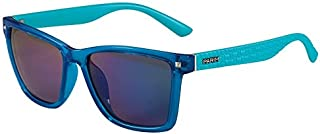 PARIM Mirrored Wayfarer Unisex Sunglasses - (1287 C1|57|Green Color Lens)-Polarized