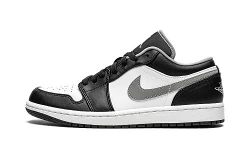 Jordan Mens Air Jordan 1 Low 553558 040 Black/Particle Grey - Size 11