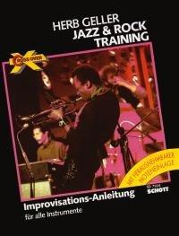 Cross Over: Jazz & Rock Training. Instrument in B. Ausgabe mit MC.