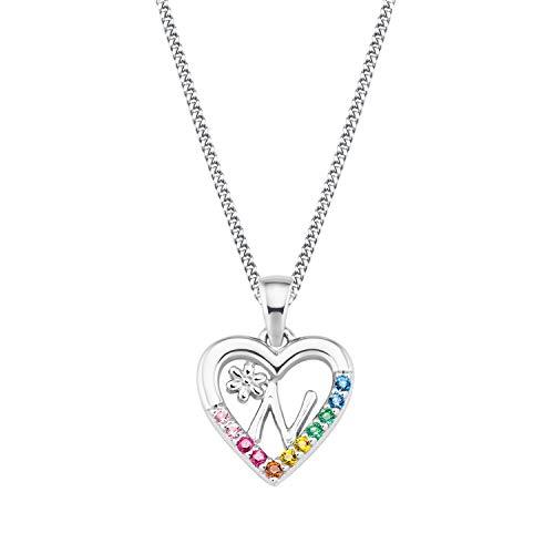 Prinzessin Lillifee Silber Mädchen-Halskette Herz N 2027887