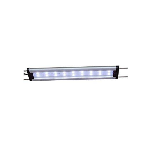 happet AquaLED Aquarium LED Beleuchtung, Aquariumleuchte für Ihre Zierfischaquarien ALS Aquariumlampen und Aufsetzleuchte im Süßwasser ALS Tageslicht und Pflanzenlicht einsetzbar (LB09, 28-38 cm)