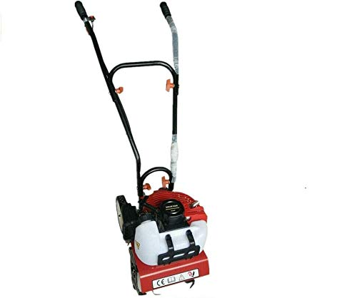 RANZIX Escarificador de gasolina, 52 cc, 2 tiempos, motocultor, motoazada, cultivador, fresadora de suelo, 2 CV, 1,45 kW
