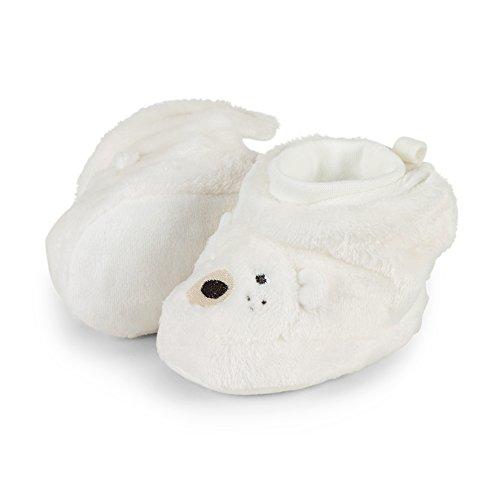 Sterntaler Unisex Baby Schuhe Krabbelschuhe, Beige (Ecru 908), 17/18 EU