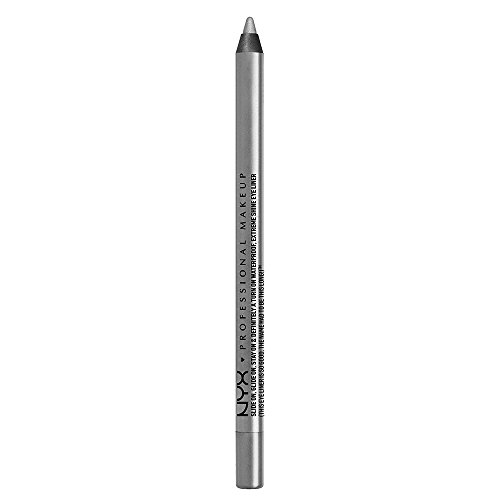 NYX PROFESSIONAL MAKEUP Slide On Pencil, Waterproof Eyeliner Pencil, Platinum