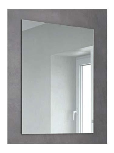 Espejo de Cuerpo Entero sin Marco Inteligente Espejo de Cuerpo Entero LED montado en la Pared con Espejo de Piso de luz Espejo de luz Decorativa 40 120cm Espejo a Prueba de explosiones Inteligente