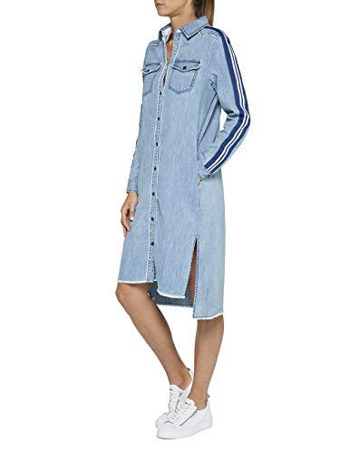 Replay Damen W9558B.000.26C 477 Kleid, Blau (Light Blue 10), Medium (Herstellergröße: M)