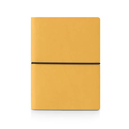 Ciak Notizbuch Schurwolle 12x 17cm-jaune