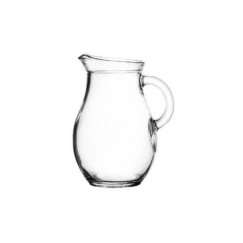 Pasabahce Bistro 80101 - Krug Glaskrug Wasserkrug, 0,5 Liter, max ~600ml, 1 Stück