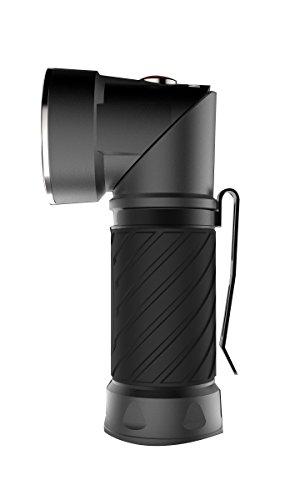 Nebo Cryket Linterna 3 en 1 con Cabezal Pivotante, Negro, 123 x 41 x 49 mm