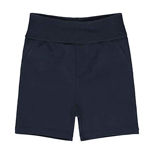 Steiff Baby-Jungen Shorts, Blau (Black Iris 3032), 50 (Herstellergröße: 050)